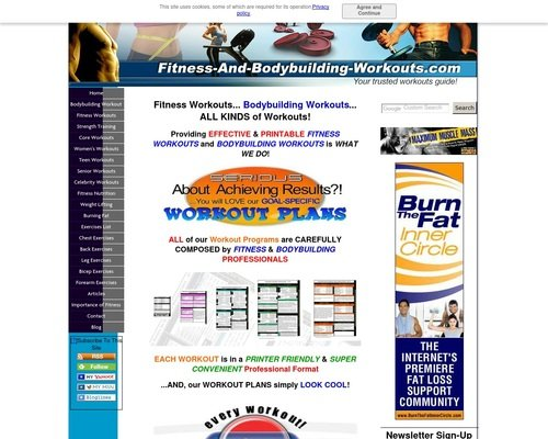 Fitness Workouts and Bodybuilding Workouts 1