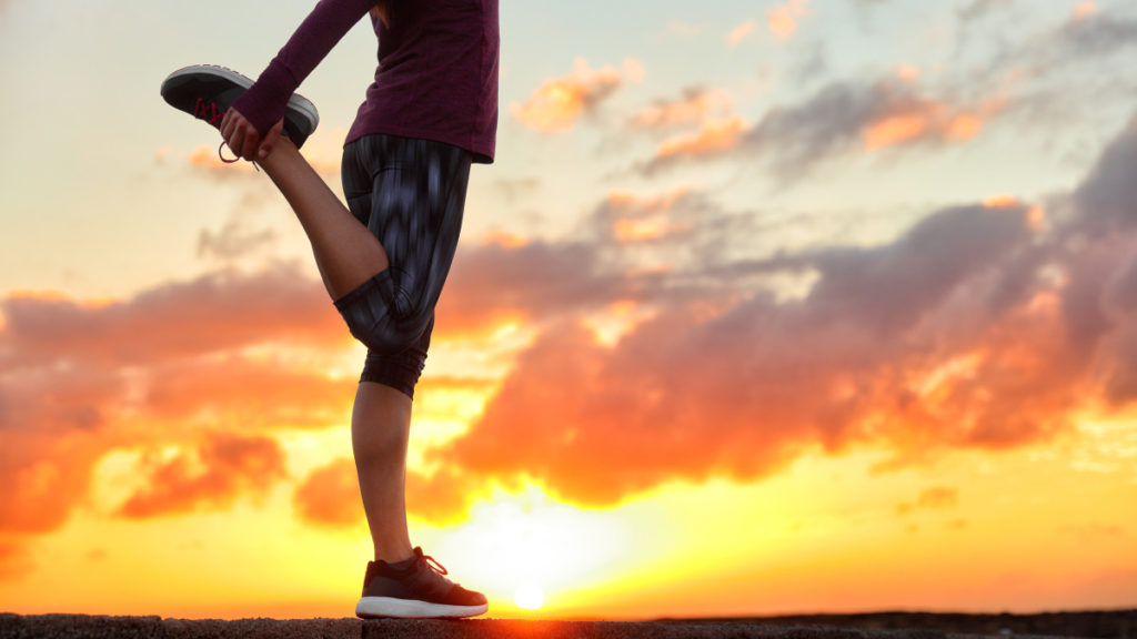 The importance of stretching to avoid running injuries
