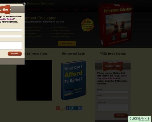 Retirement Calculator Software 1