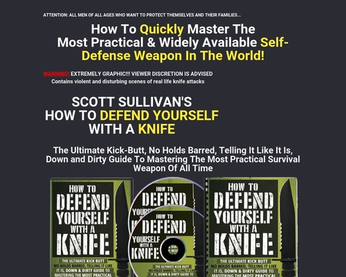 How To Defend Yourself With A Knife 1