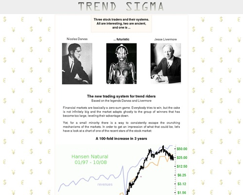 Trend Sigma - Stock Trading System 1