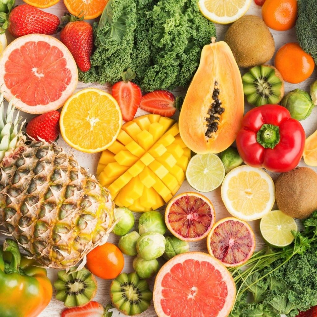 There are plenty of sources of antioxidants in your diet to improve your skin