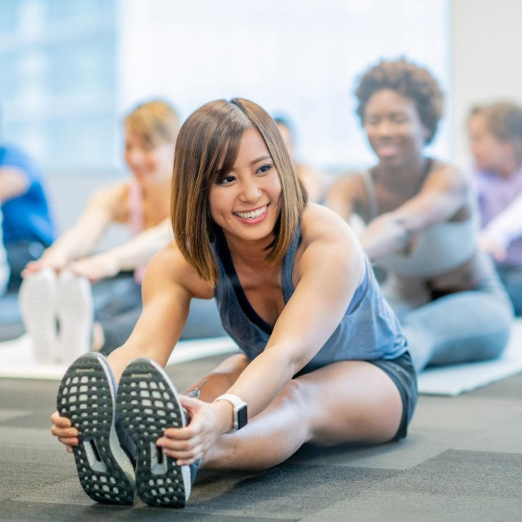 What are the Health Benefits of Exercise - touching your feet