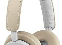 B&O PLAY by Bang & Olufsen 1645146 Beoplay H8i Wireless Bluetooth On-Ear Headphones with Active Noise Cancellation (ANC), Natural,Transparency mode and Microphone