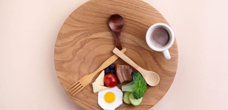 You don't practice intermittent fasting