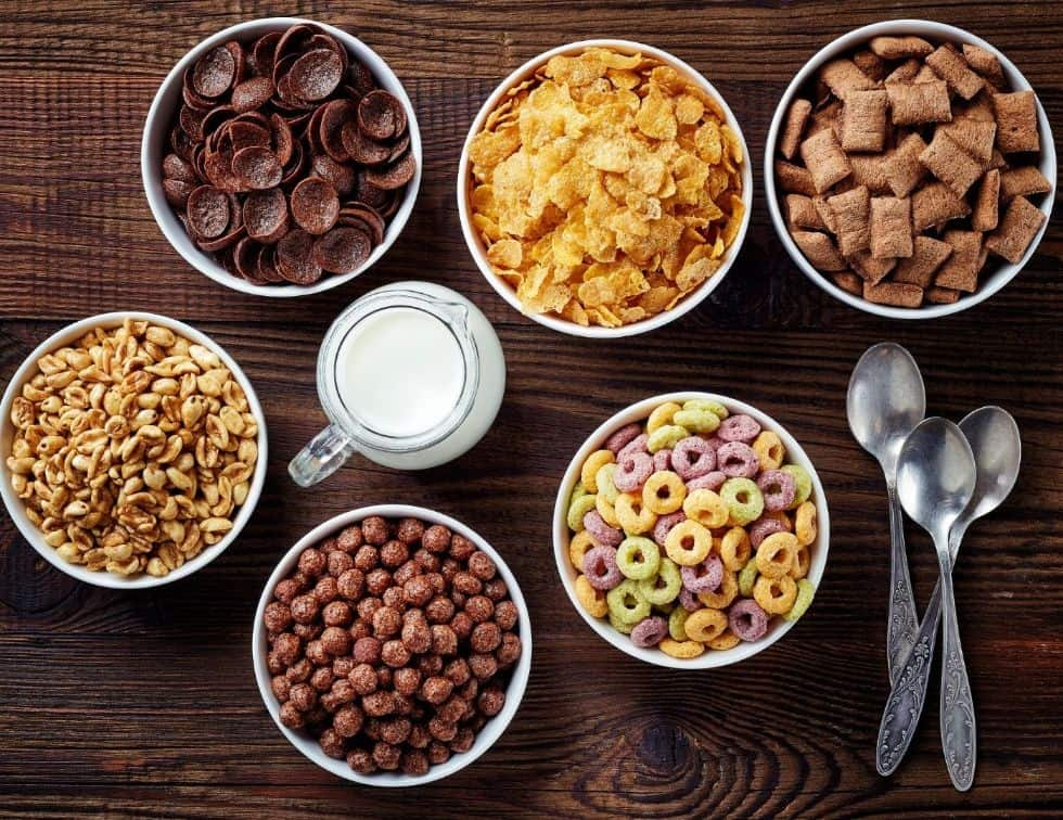 Foods to avoid to lose weight faster - Breakfast cereals