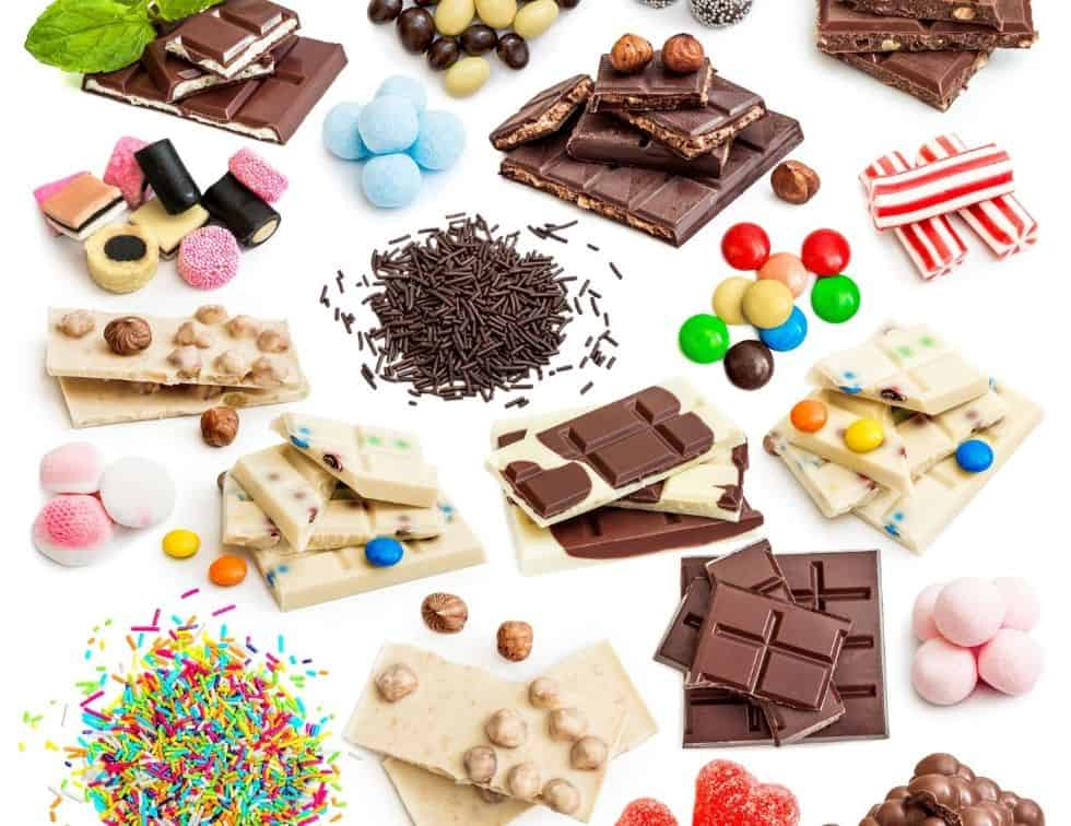 Foods to avoid to lose weight faster - Chocolates and candy
