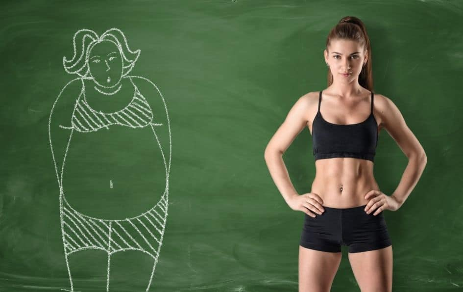 Weight and fat loss from HIIT training