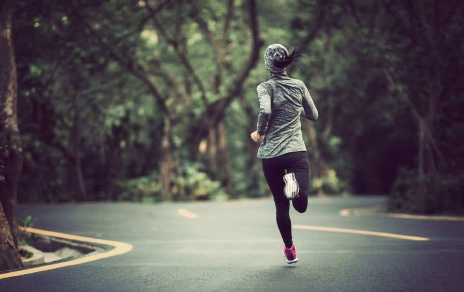 The goal is to go at your own pace when you are running