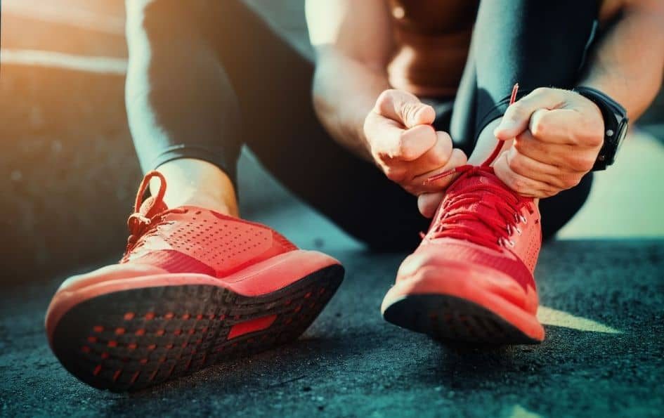 A pair of comfortable sneakers is critical to Start Running From Scratch
