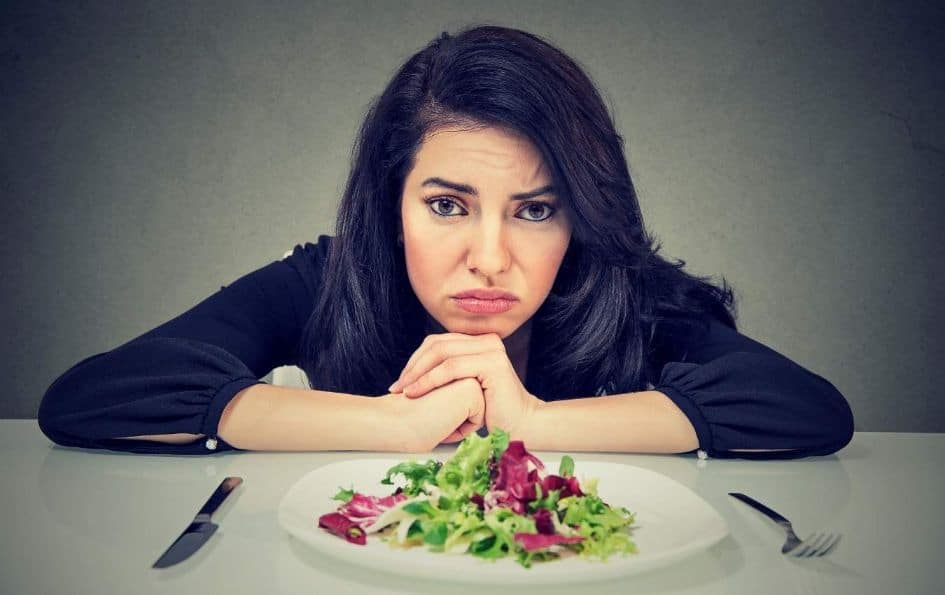Try to create a mental context to overcome the anxiety of dieting