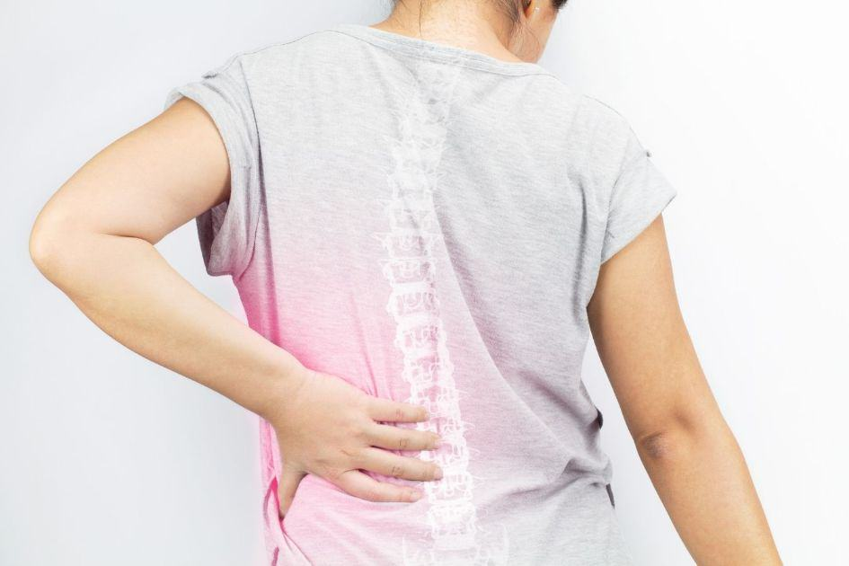 Back pain problem from extreme training