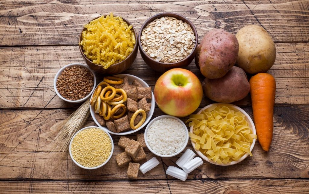 A variety of carbohydrates that the  body consumes