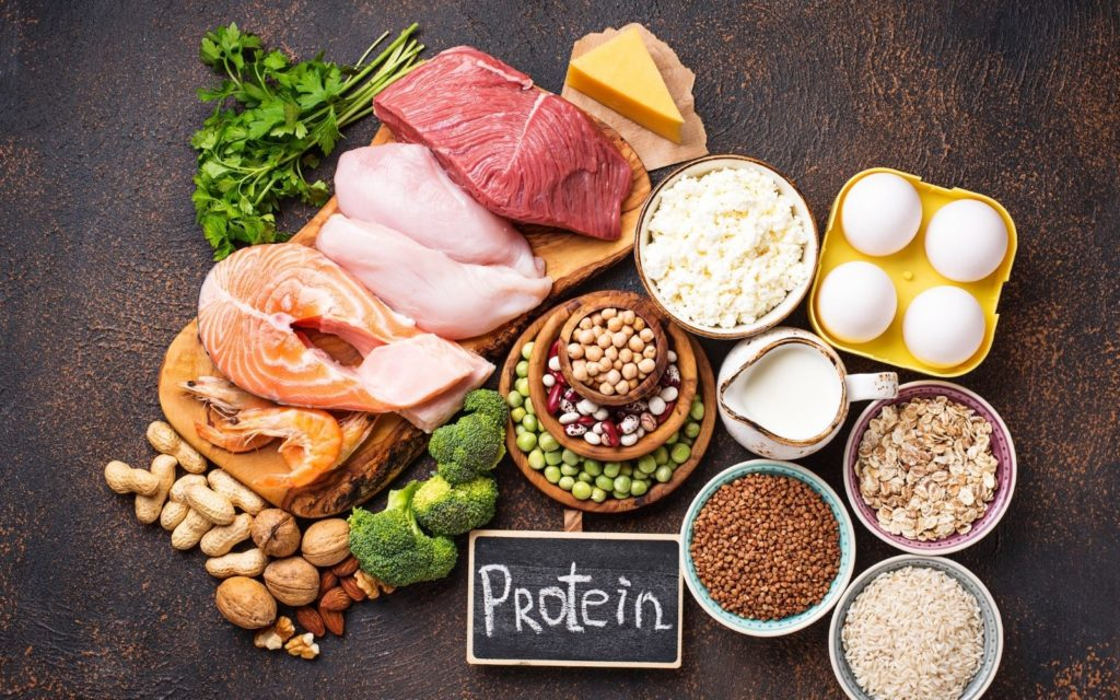 Eat more foods containing proteins
