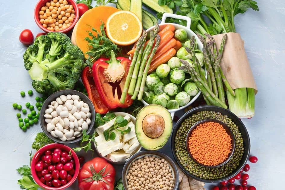 The vegan diet is one of the 5 Recommended Diets