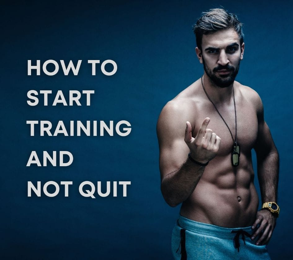 How to start training and not quit