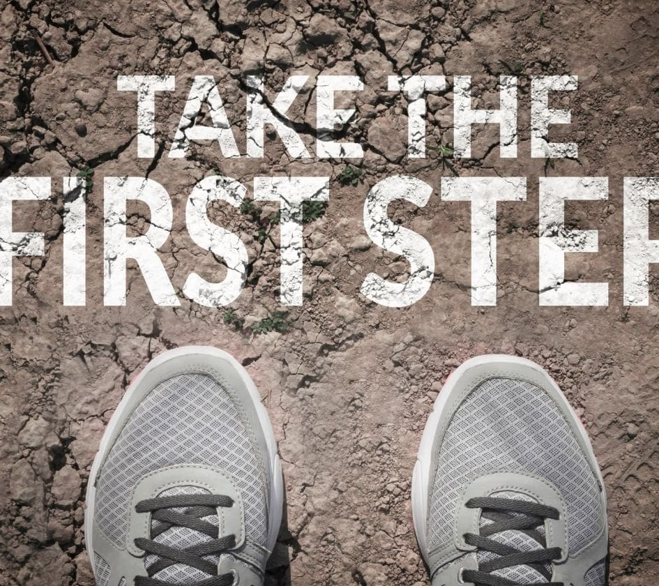 A thousand-mile journey begins with a first step