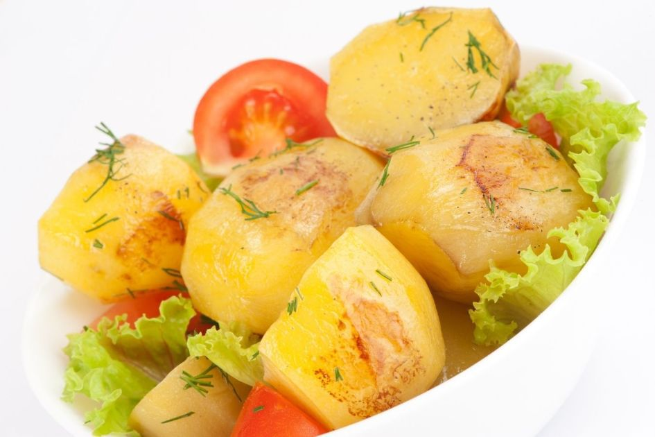 Cooked and Cooled Potatoes