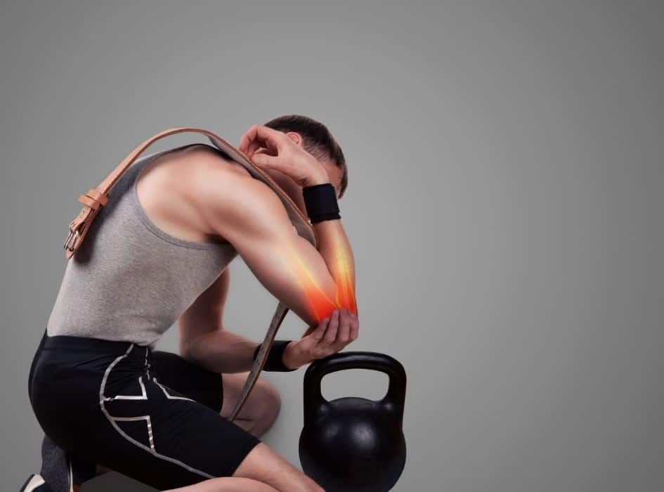 By adding extra weights to the exercises, there is a greater risk of injury