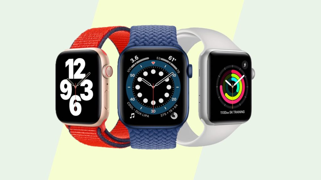 Apple Watch Series 6 comes in 3 sizes
