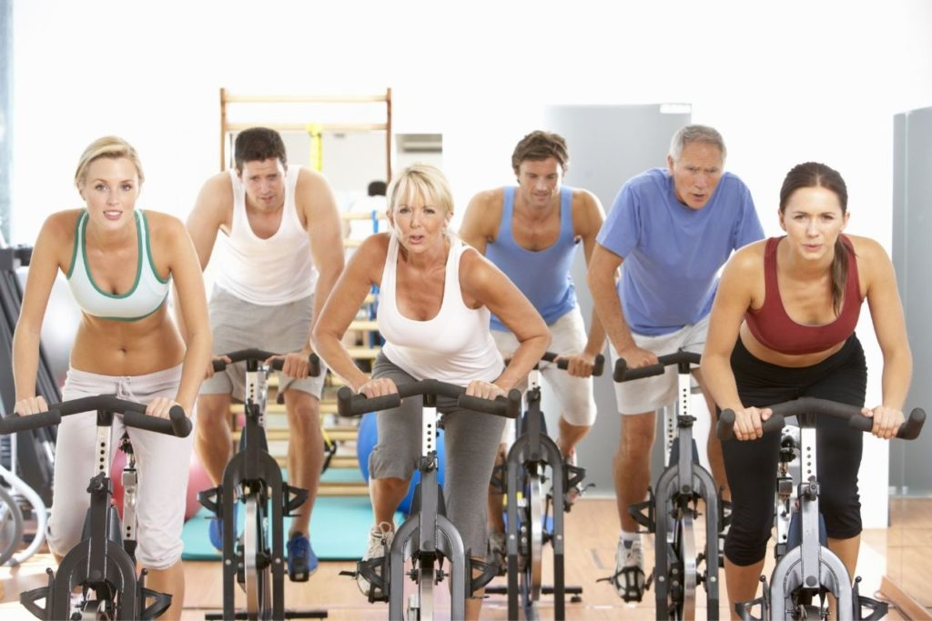 Spinning - If you want to get fit, you have to enjoy the activity you're engaging in