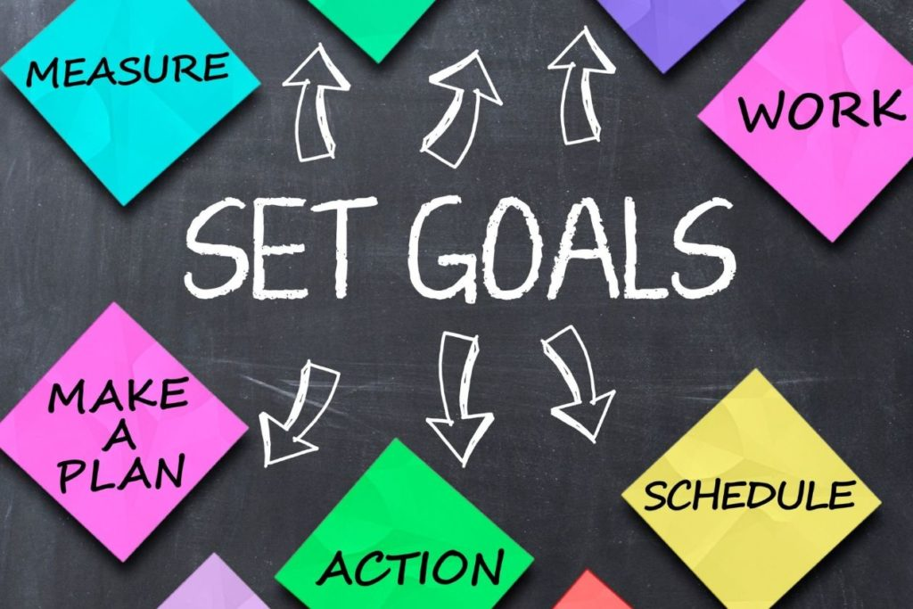 Goal setting, exercise, and healthy habits
