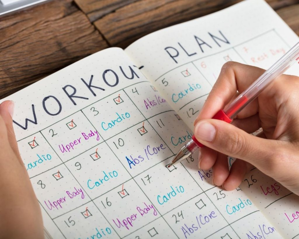 How can a workout plan help your fitness journey