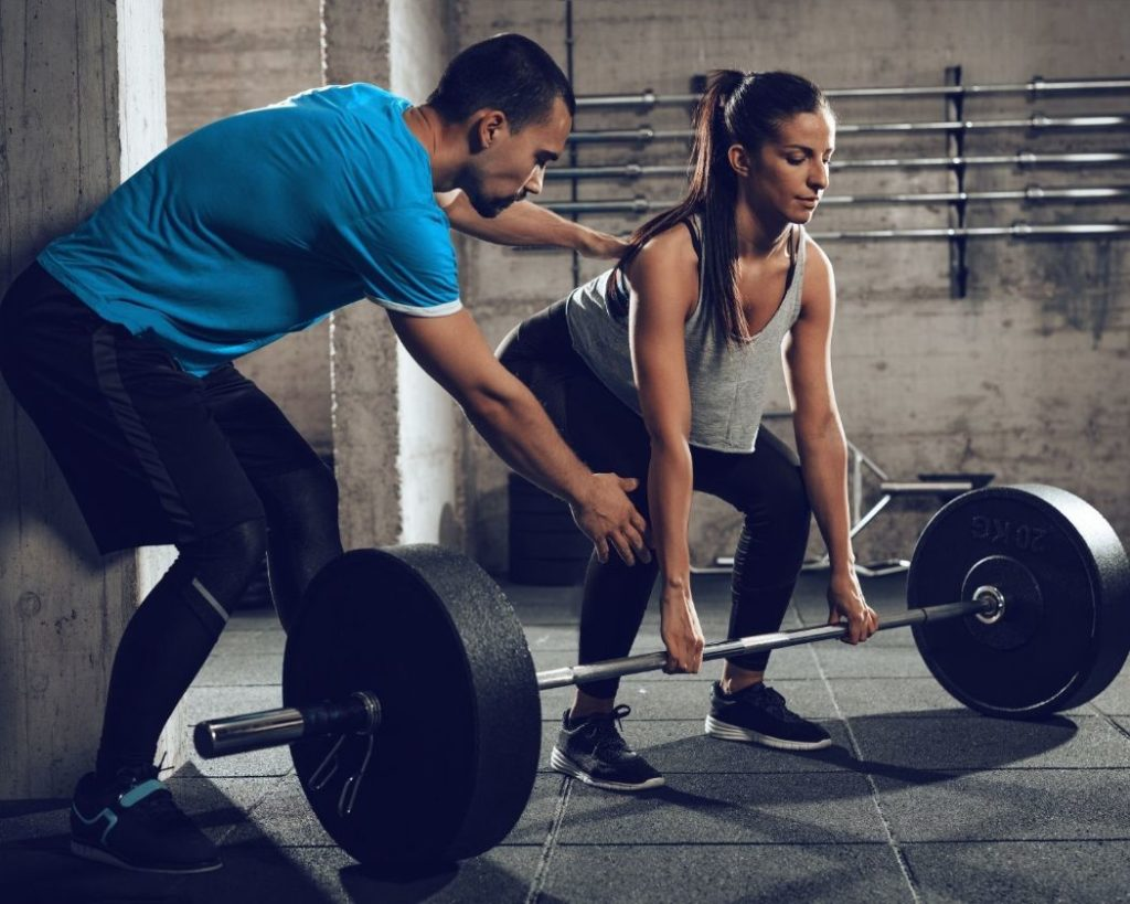 Get a personal trainer to help you achieve your fitness journey