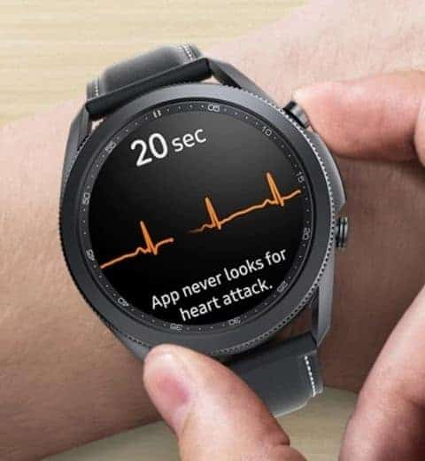 Measuring Blood Oxygen Levels on Galaxy Watch 3