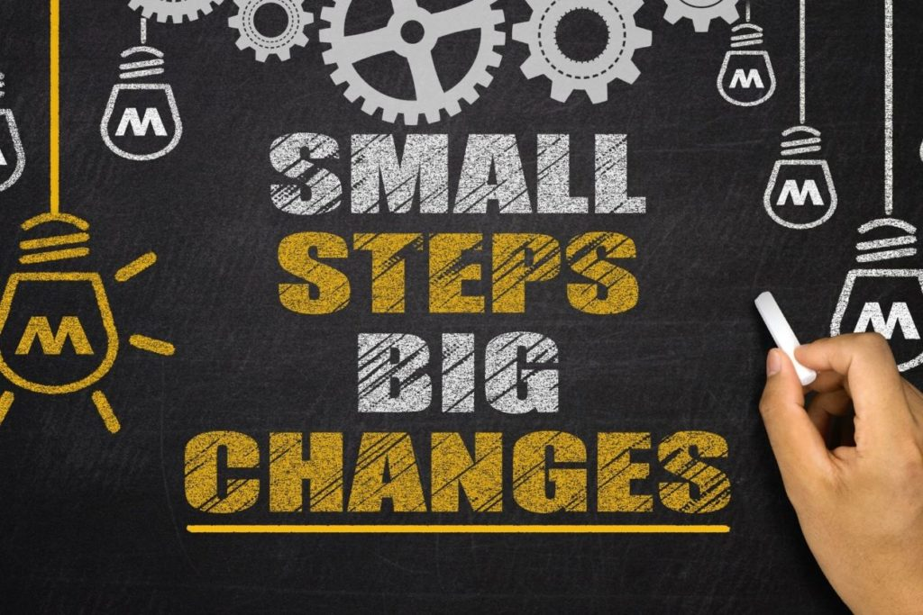 Small changes can make a big difference to your body
