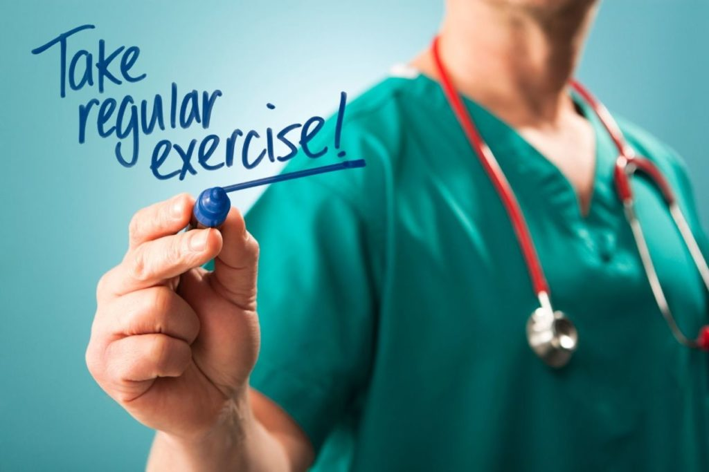 Physical health and regular exercise is an essential way to charge your body