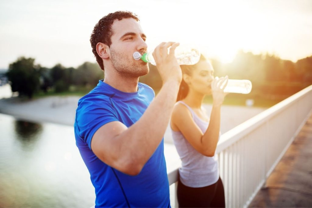 A properly hydrated body is essential to good health