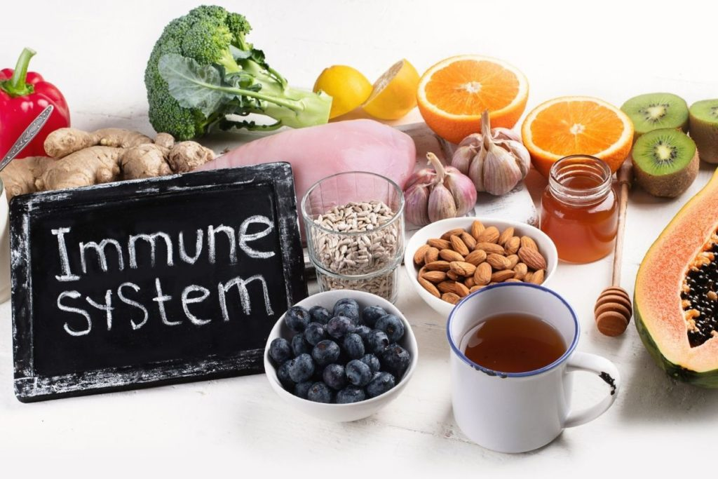 A healthy diet to improve your energy levels and immune system
