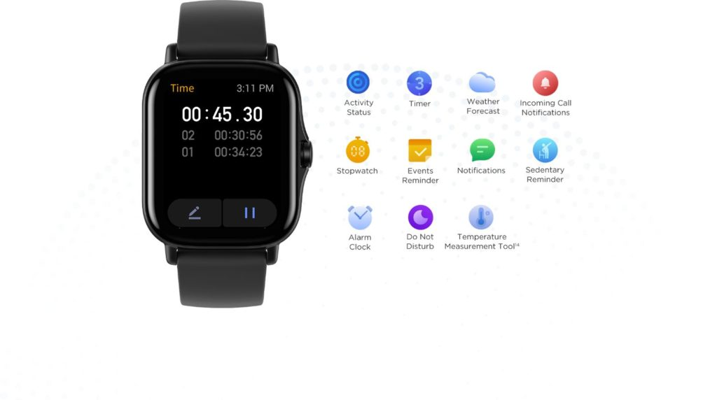 Features of Amazfit GTS 2e Smartwatch
