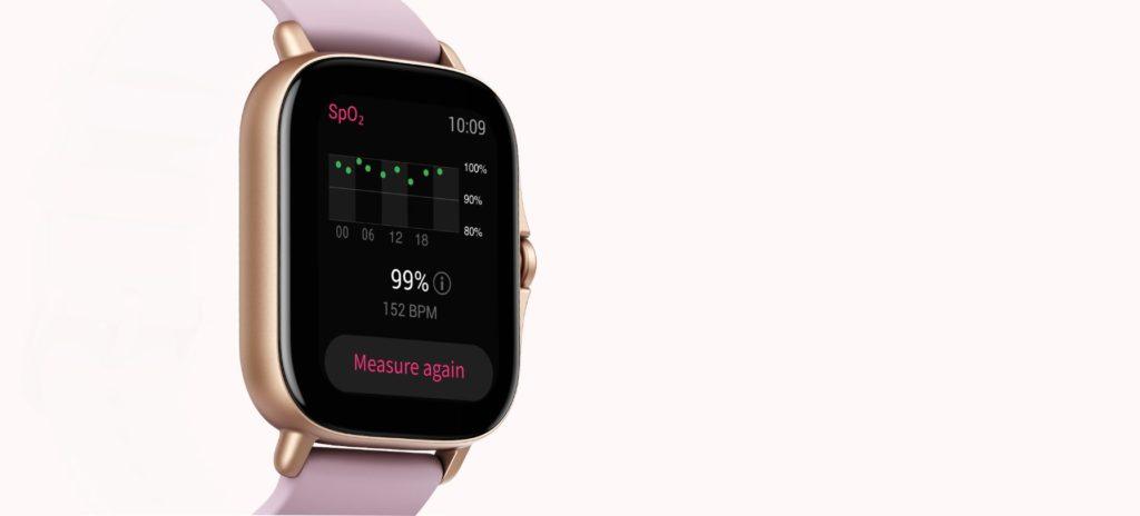 The Design of Amazfit GTS 2e Smartwatch