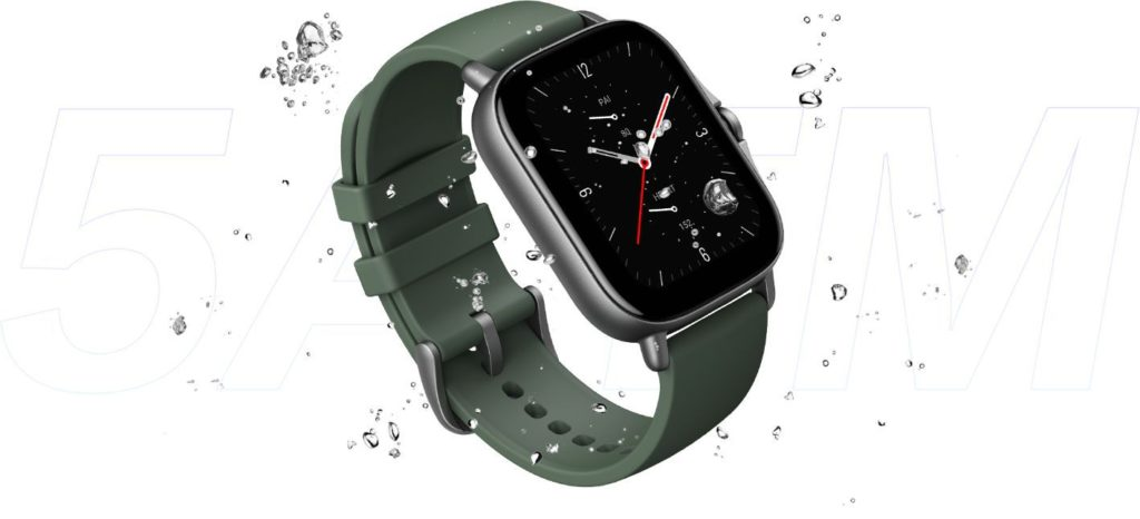 Amazfit GTS 2e Smartwatch is 50 meters waterproof