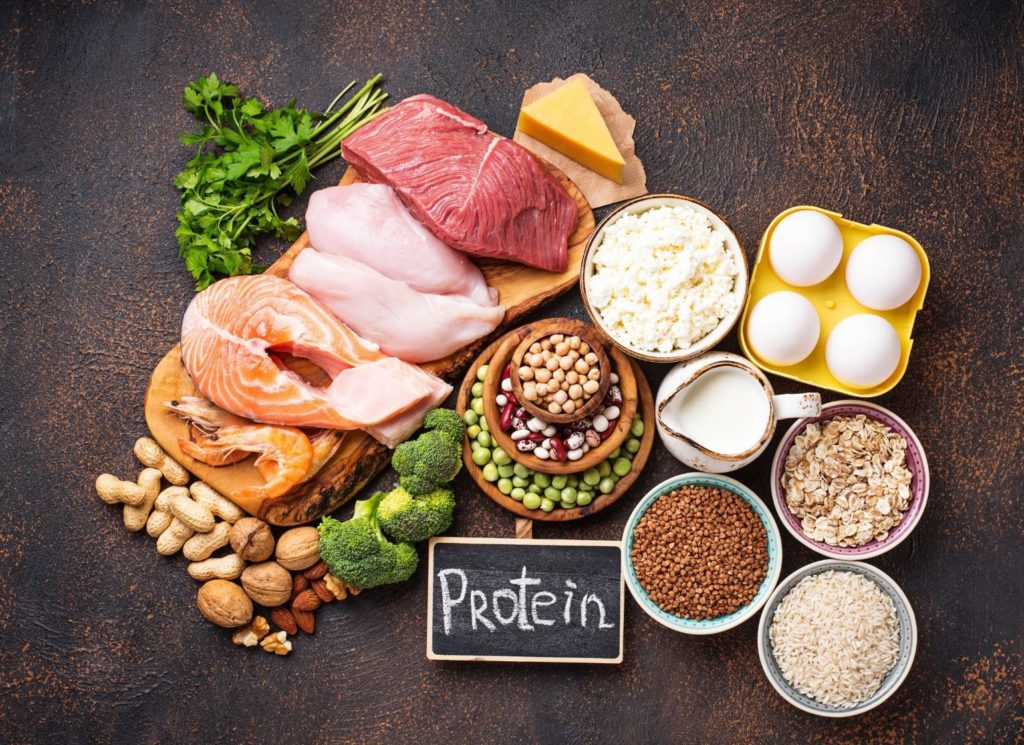 Protein consumption is essential on training after 40s