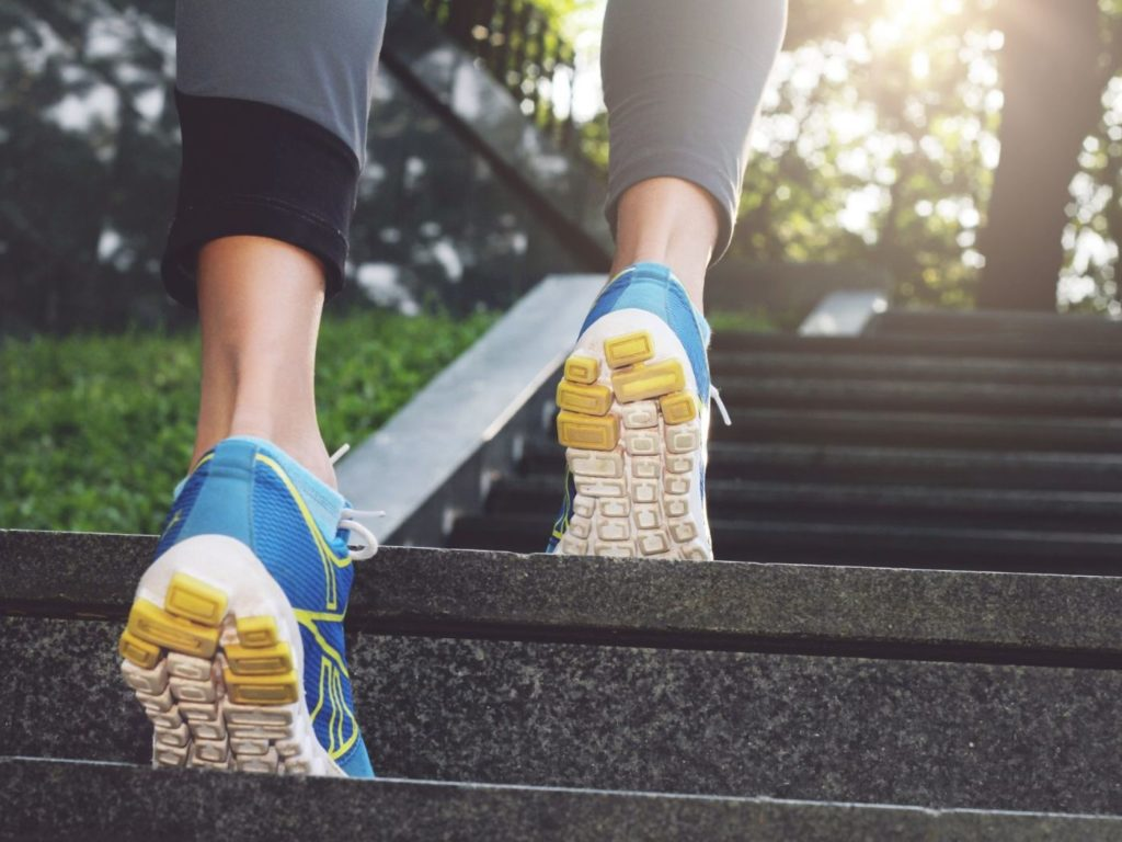 Motion technology in running shoes