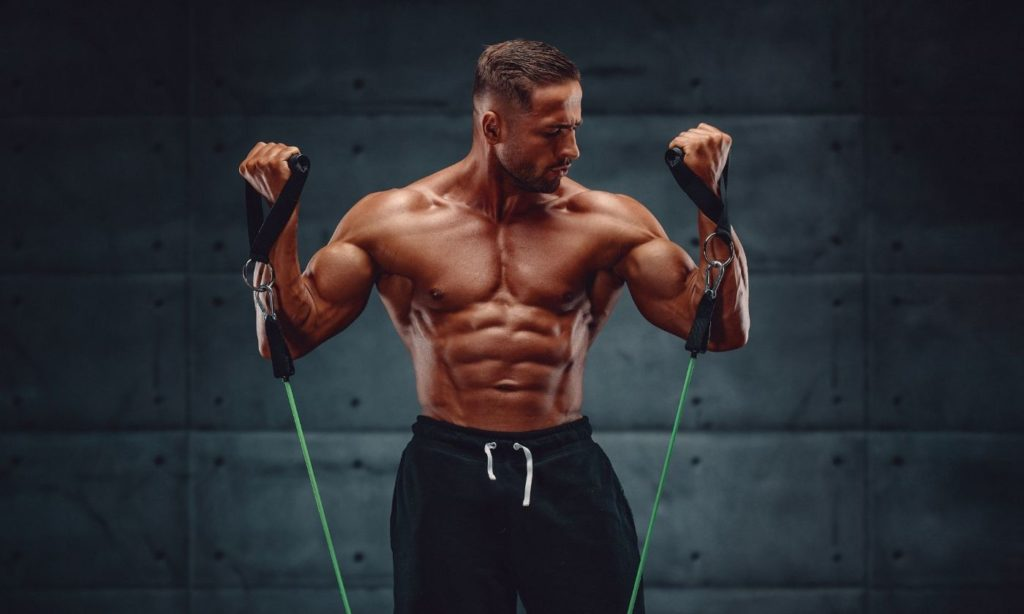 Have you ever noticed an improvement in your body just by using resistance bands?