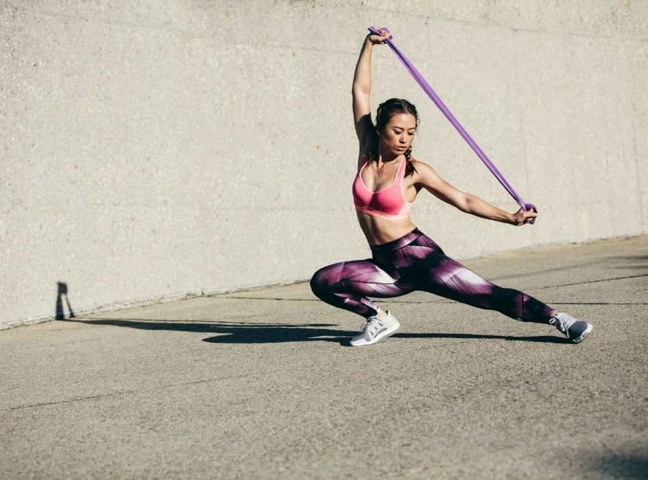 Resistance bands provide a great way to train for and reach your goals