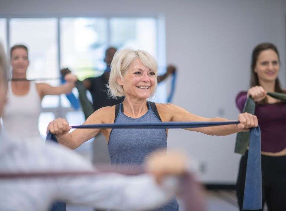 Resistance Band Workouts Have Benefits For People Of All Ages
