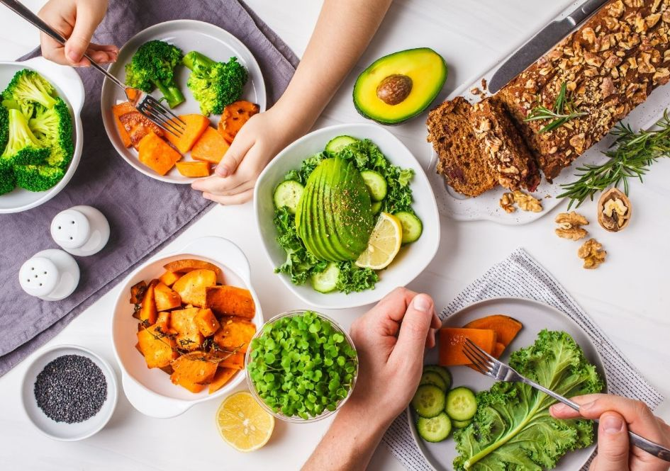 Fuel my body with healthy food