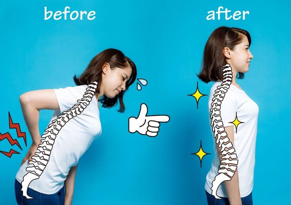 Tighten your posture