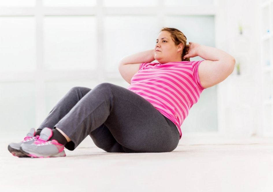 Doing sit-ups burns fat off the belly is a myth