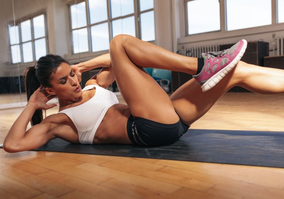 You don't have to do sit-ups every day