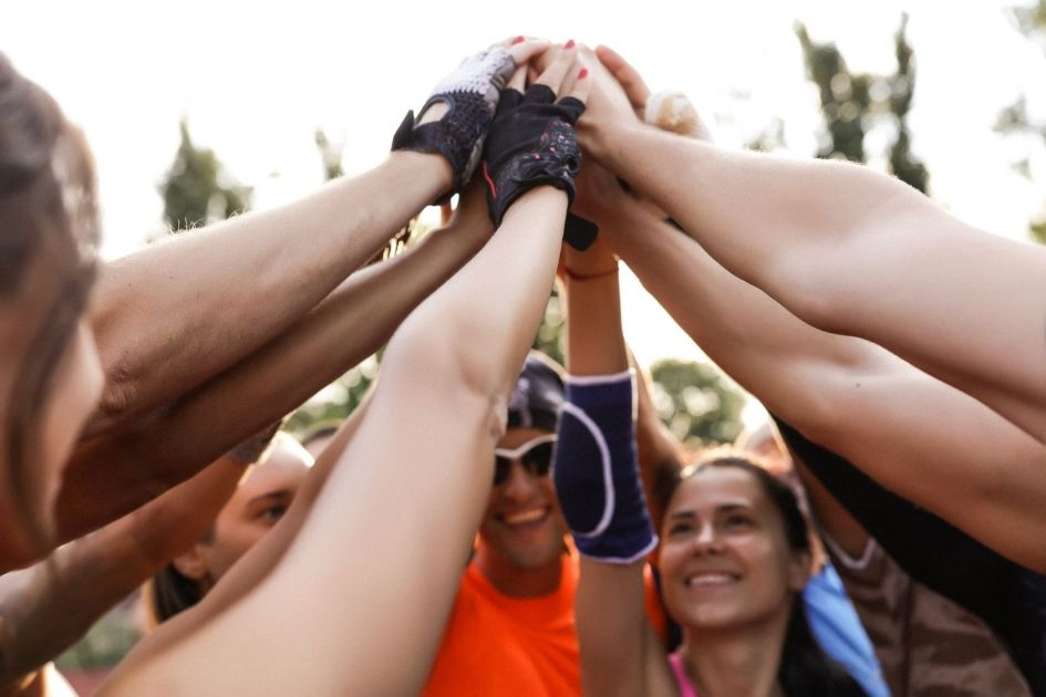 Socializing is one of the best things about running