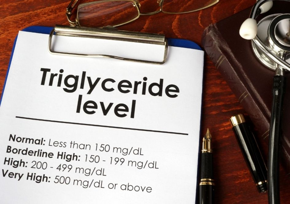 Triglycerides are found in the bloodstream