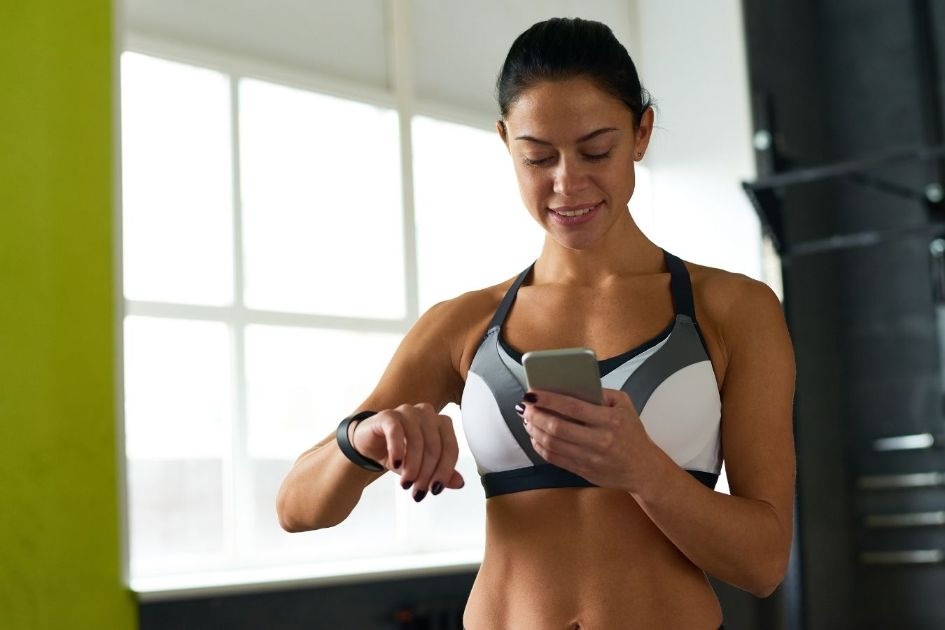Fitness trackers help you stay motivated