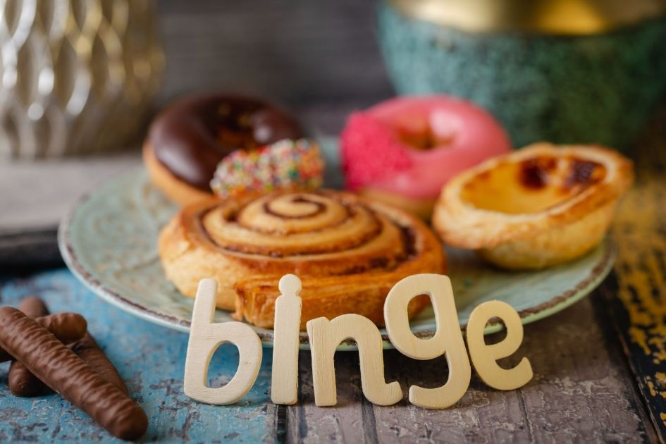 Try to stop binge eating